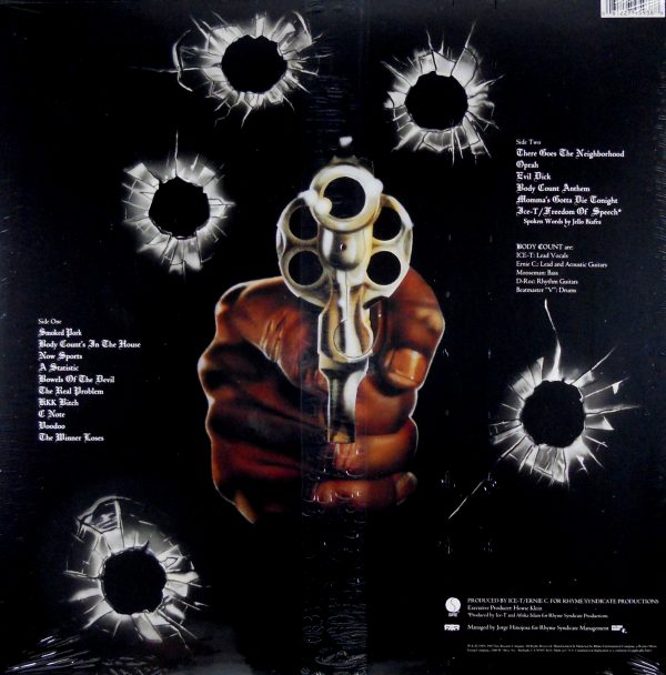 body count self titled lp