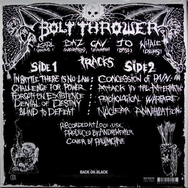 bolt thrower in battle there is lp