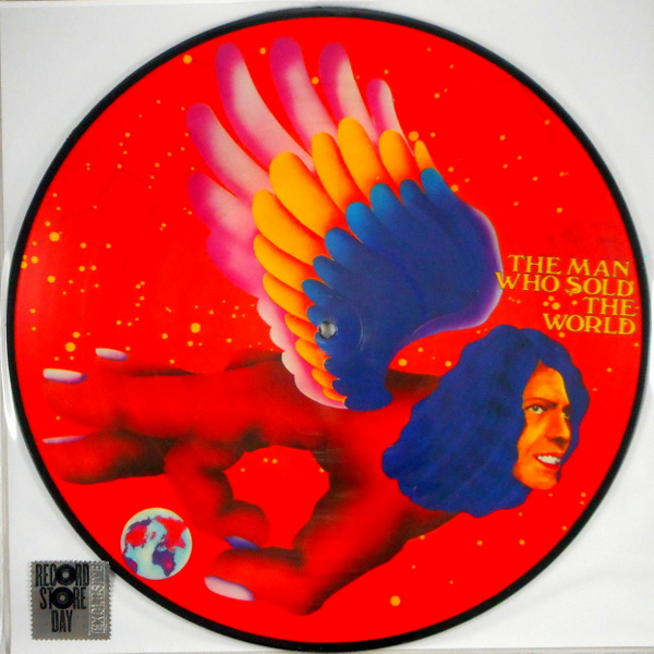 BOWIE, DAVID the man who sold the world - pic disc LP