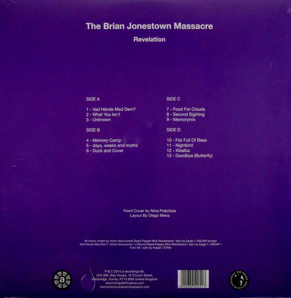 BRIAN JONESTOWN MASSACRE revelation lp
