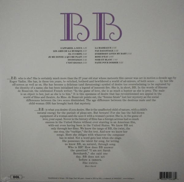BARDOT, BRIGITTE sings LP