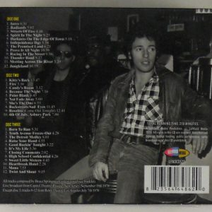 SPRINGSTEEN, BRUCE passaic night CD back