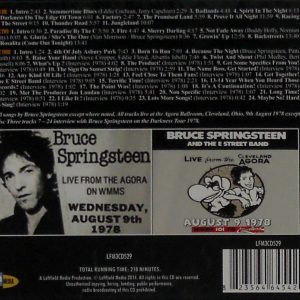 bruce springsteen agora ballroom cd box