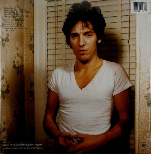 SPRINGSTEEN, BRUCE darkness on the edge of town LP back