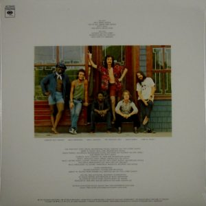 SPRINGSTEEN, BRUCE the wild the willing & the e street shuffle LP back