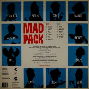 BRUUT! mad pack LP back