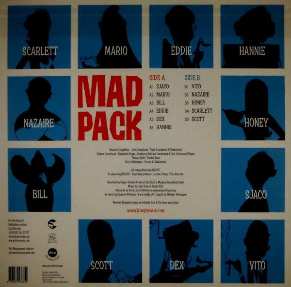 BRUUT! mad pack LP back