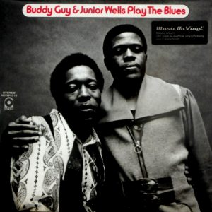 GUY, BUDDY & JUNIOR WELLS play the blues LP