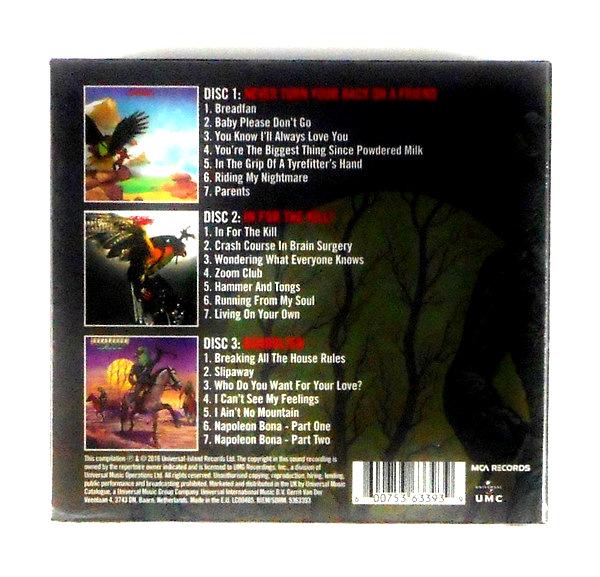 BUDGIE the MCA albums 1973-1975 - box set CD