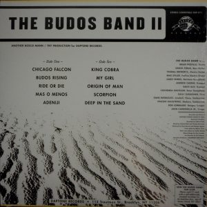 BUDOS BAND, THE the budos band 2 LP