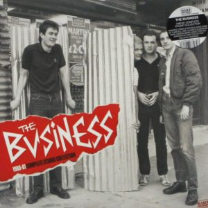 BUSINESS, THE 1980-81 complete studio collection LP