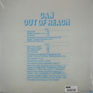 CAN out of reach LP