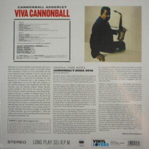 ADDERLEY, CANNONBALL viva cannonball LP