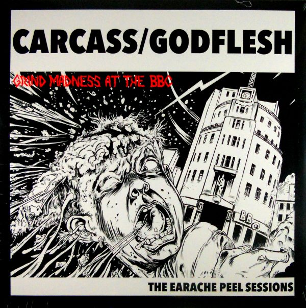 CARCASS/GODFLESH grind madness at the bbc LP