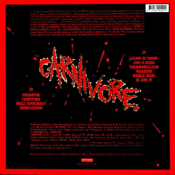 CARNIVORE carnivore LP