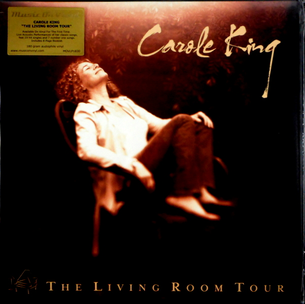 KING, CAROLE the living room tour LP
