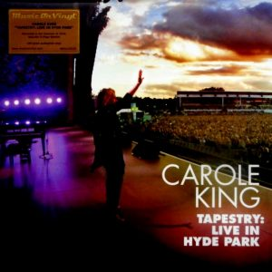 KING, CAROLE tapestry live in hyde park LP