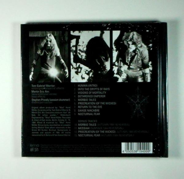 CELTIC FROST morbid tales - deluxe cd CD