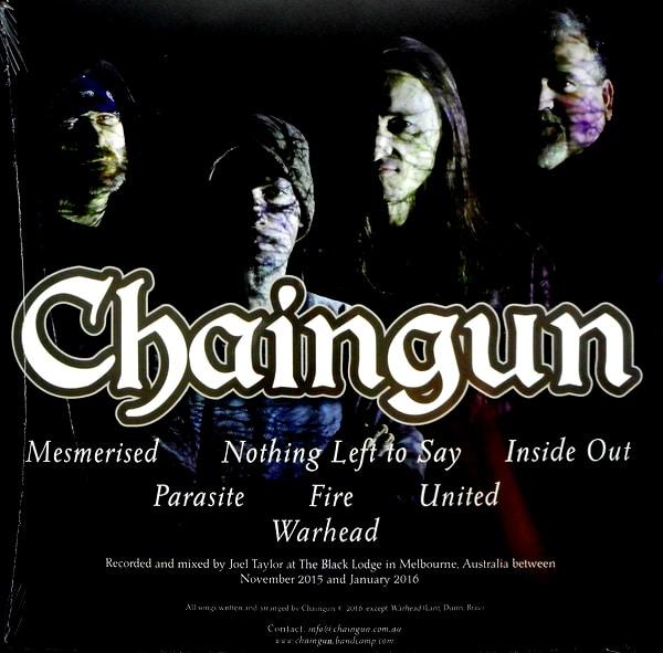 CHAINGUN mesmerised LP