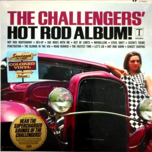 CHALLENGERS, THE hot rod album LP