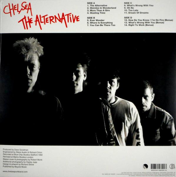 CHELSEA the alternative LP