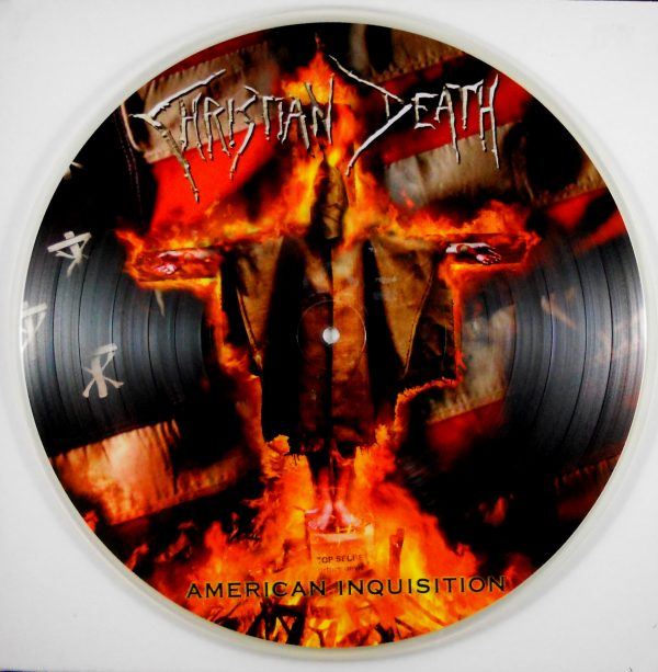 CHRISTIAN DEATH american inquisition - pic disc
