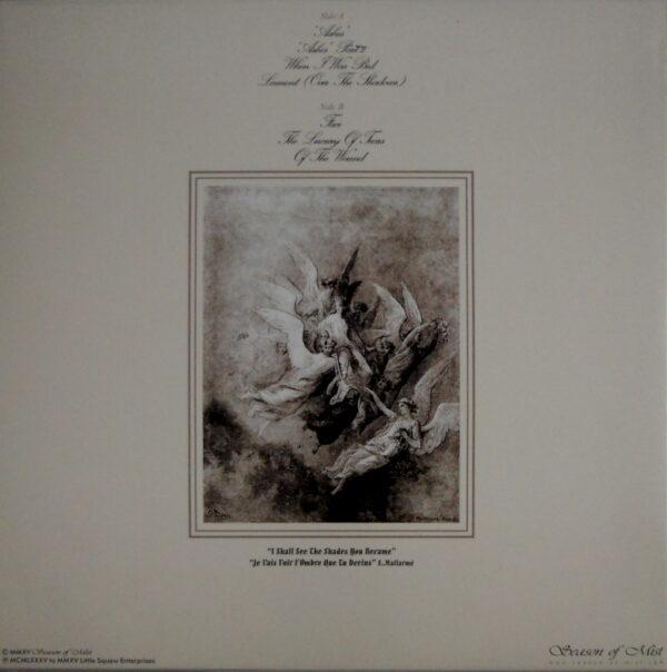 CHRISTIAN DEATH ashes - col vinyl LP back