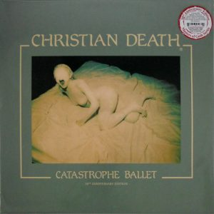 CHRISTIAN DEATH catastrophe ballet - col vinyl LP