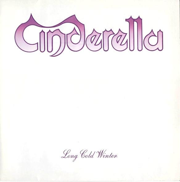 CINDERELLA long cold winter LP