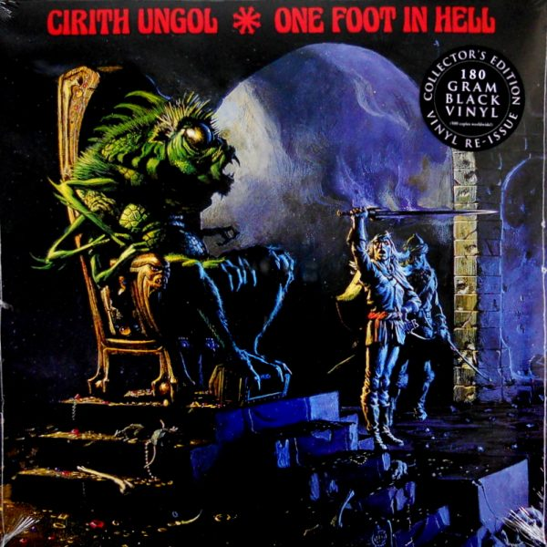 CIRITH UNGOL one foot in hell LP