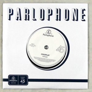 COLDPLAY midnight 7 inch single