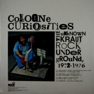 VARIOUS ARTISTS cologne curiosities LP