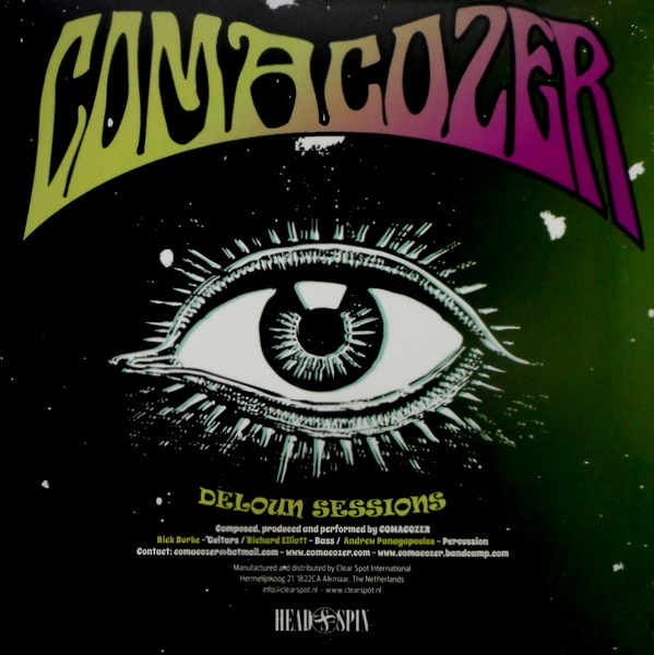 COMACOZER deloun sessions LP