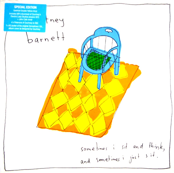 BARNETT, COURTNEY sometimes I sit and think and sometimes I just sit - special edition LP