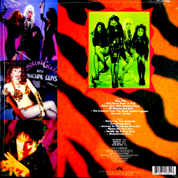 CRAMPS, THE stay sick LP back