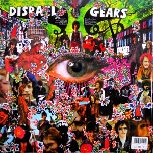 CREAM disraeli gears LP back