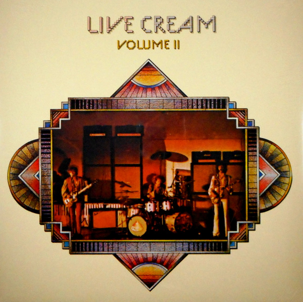 CREAM live cream vol 2 LP