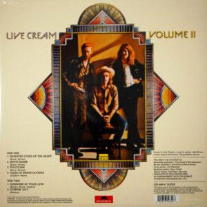 CREAM live cream vol 2 LP