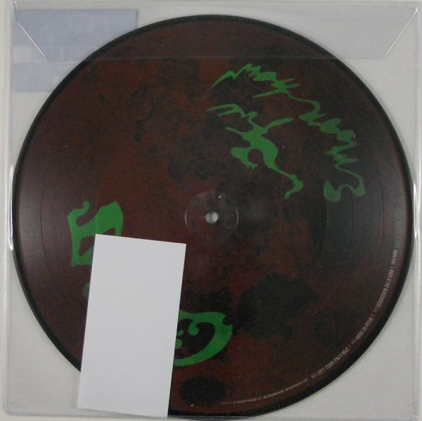 "CROBOT full moon howl 10"" inch back"