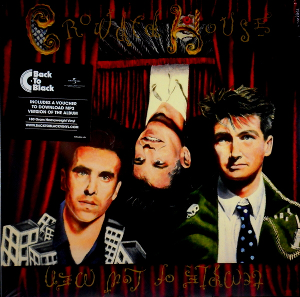 CROWDED HOUSE temple of low men LP