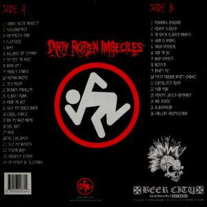 D.R.I. live at cbgb's 1984 LP back