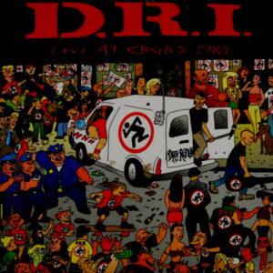 D.R.I. live at cbgb's 1984 LP