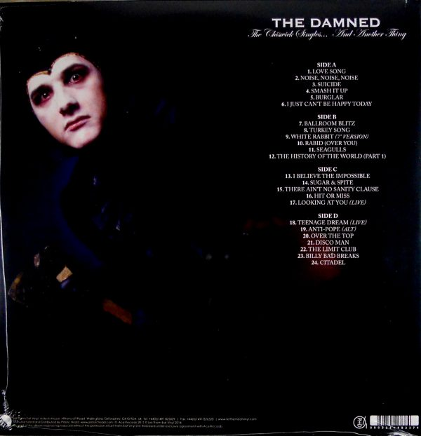 damned chiswick singles lp