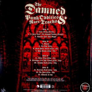 DAMNED, THE punk oddities & rare tracks LP back