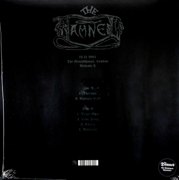 DAMNED, THE 35 years of anarchy, chaos & destruction - vol 3 LP