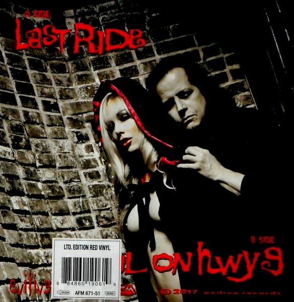 """DANZIG last ride - red vinyl 7"""""""