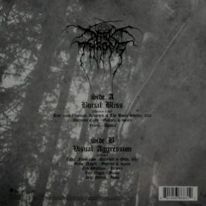 DARKTHRONE burial bliss 7""