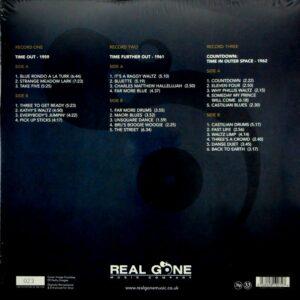 BRUBECK, DAVE three classic albums LP