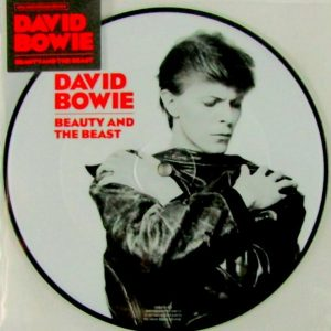 BOWIE, DAVID beauty and the beast - pic disc 7""