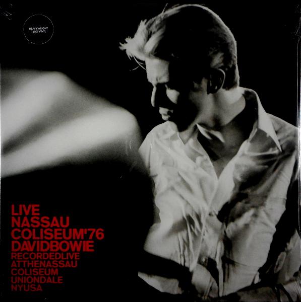 BOWIE, DAVID live nassau coliseum '76 - 180g vinyl LP